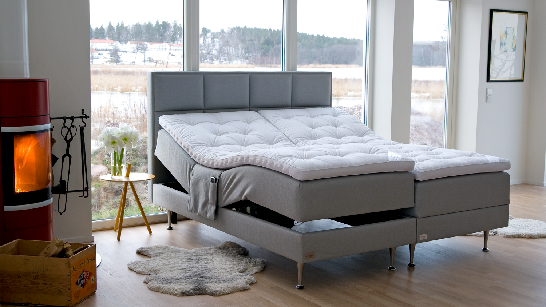 Ställbar-säng-Exclusive hos Wermdö sängar